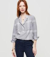 LOFT Lou & Grey Plaid Flannel Palette Shirt