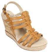White Mountain Women's Veronique Strappy Wedge Sandal