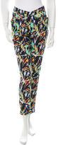 Kenzo Printed Straight-Leg Pants w/ Tags