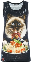 Dolce & Gabbana Cat Print Tank Top