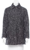 Jil Sander Mohair & Wool-Blend Short Coat
