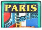 Balenciaga Bazar Paris leather pouch