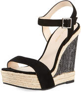 Pelle Moda Omer Suede High Wedge Sandal