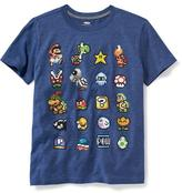 Old Navy Super Mario 8-Bit Graphic Tee for Boys