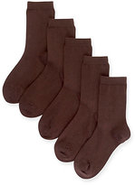 Marks and Spencer 5 Pairs of FreshfeetTM Cotton Rich School Socks (5-14 Years)