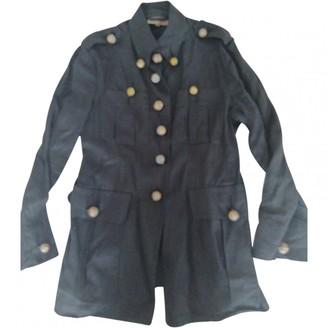 Romeo Gigli Black Linen Jacket for Women