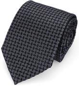 Armani Collezioni Black Star Tie