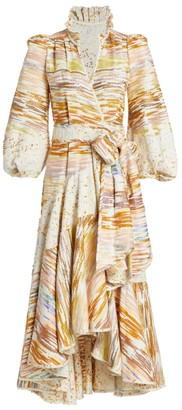 ANNA MASON Stella Midi Wrap Dress