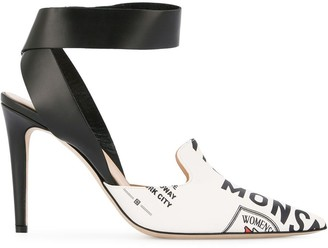 Monse Loafer High-Heel Pumps