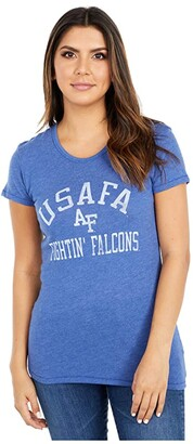 Champion College Air Force Falcons Keepsake Tee (Vintage Royal) Women's T Shirt
