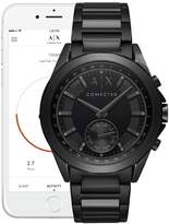 ARMANI Armani Exchange - Connected Black Stainless Steel Hybrid Smart Watch