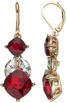 Dana Buchman Marquise & Round Simulated Crystal Drop Earrings