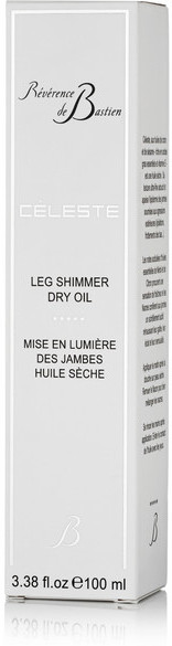 Bastien REVERENCE DE Celeste Leg Shimmer Dry Oil, 100ml - Colorless