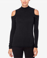 Catherine Malandrino Madre Cashmere Cold-Shoulder Sweater
