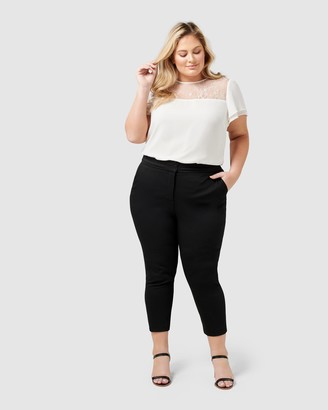 Forever New Curve Audrey High Waist Curve Pants