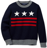 Toobydoo Valentin Stars Sweater (Toddler & Little Boys)