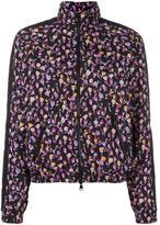 Versace Flower Thrift zip-up jacket - women - Polyamide/Spandex/Elastane/Polyester - 1