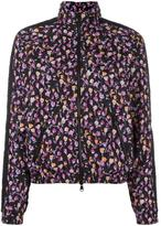 Versace Flower Thrift zip-up jacket