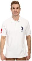 U.S. Polo Assn. Solid Pique Polo