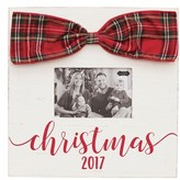 Mud Pie Infant Christmas 2017 Bow Picture Frame