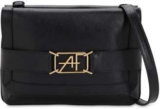 Alberta Ferretti Smooth Leather Shoulder Bag