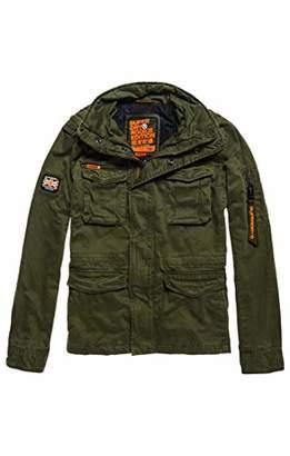 Superdry Men's Rookie Classic 4 Pocket Jacket Coat,Small