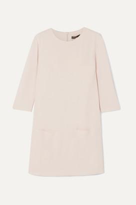 The Row Marina Crepe Mini Dress - Ecru