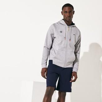 Lacoste Men's SPORT Roland Garros Hooded Zip-Up Sweatshirt