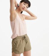 LOFT Lou & Grey Poplin Shorts