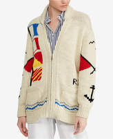 Polo Ralph Lauren Cotton Boyfriend Cardigan