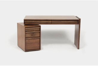 Artless Small Desk Color: Brown
