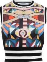Givenchy Cleopatra Crop Top