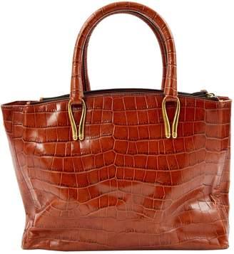 Aspinal of London Brown Leather Handbags