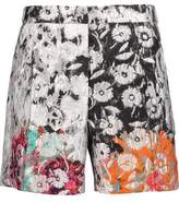 Oscar de la Renta Cotton-Blend Jacquard Shorts