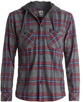 Quiksilver Men's Rockyfist Long Sleeve Hooded Shirt