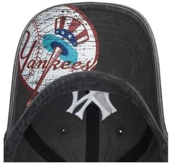 American Needle Women's New Raglan New York Yankees Baseball Cap - Black