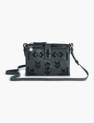 Lucky Brand Embroidered Rela Convertible Wallet Bag