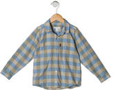 Burberry Boys' Long Sleeve Button-Up Shirt