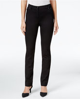 Style&Co. Style & Co Petite Ankle-Zip Skinny Pants, Only at Macy's