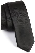 HUGO BOSS Solid Abstract Weave Tie