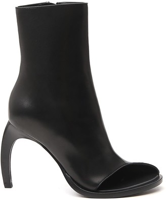 Ann Demeulemeester Low Curved Heel Booties
