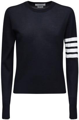 Thom Browne Virgin Wool Knit Sweater