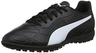 Puma Men's Monarch TT Football Boots, Black White, 40.5 EU