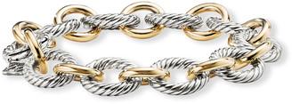 "David Yurman 7.5"" Large Oval Link Chain Bracelet"