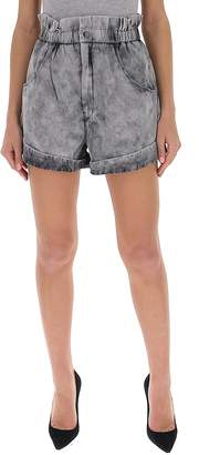 Etoile Isabel Marant High Waist Denim Shorts