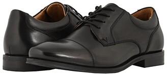 Vionic Shane (Black) Men's Lace Up Cap Toe Shoes