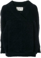 Henrik Vibskov V-neck teddy textured sweater