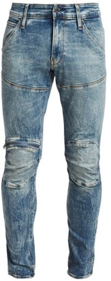 G Star 3D Zip Knee Super Slim Jeans