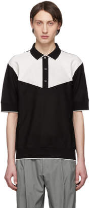 Paul Smith Black and White Gents Polo