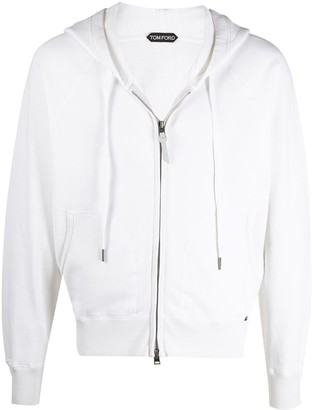 Tom Ford Zip-Up Cotton Hoodie